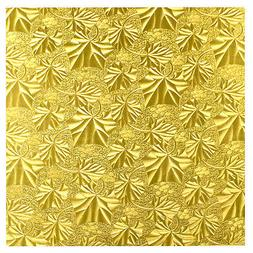 "1/2"" Thick Square Gold Cake Fold-under Board"