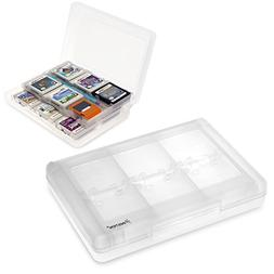 Insten 28-in-1 Game Card Case for Nintendo NEW 3DS / 3DS / D