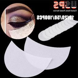 10~100PCS Eye Shadow Shields Patches Eyelash Pad Under Eye S