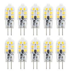 10 Pack 2W G4 Led Bi Pin Bulb Dimmable For Under Counter Puc