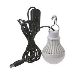 LIYUDL 5W 10 LED USB Bulb Light with with on/off switch, Ene