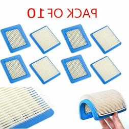 10Pack For Briggs & Stratton Flat Air Filter Cartridge 49158