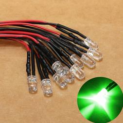 10pcs 12V LED <font><b>Light</b></font> Bulb <font><b>10</b>