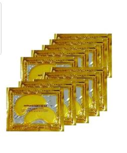 10Xpairs Crystal collagen  gold under eye patches mask dark