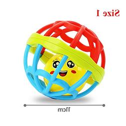 11CM/ 9CM Baby Rattles Ball Toy for Kids 0-3 year Old Teethe
