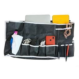 12 Pockets Bedside Caddy Organizer Hanging Storage Organizer