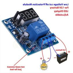 12V Battery Low Voltage Under Voltage Discharge Protection M