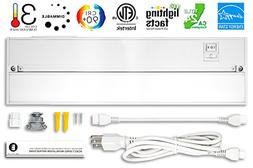 Britelum 14 Inch, 3-in-1 Color Temperature: Dimmable LED Und