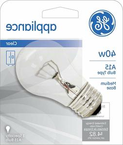 GE Lighting 15206 40-Watt Appliance Light A15 1CD Light Bulb