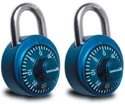 Master Lock 1530T 2-Pack Colored Dial Combination Padlocks -