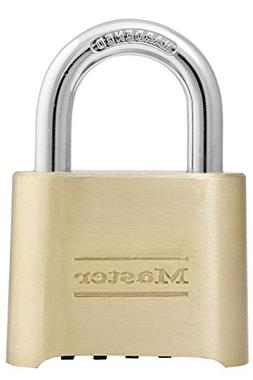 Master Lock Padlock, Set Your Own Combination Lock, 2 in. Wi