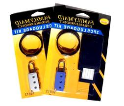 2 Pack Luggage Locks & ID Tags TravelNut Top New Popular Him