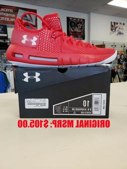 2018 Under Armour HOVR Havoc Low Basketball - Red -