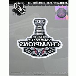 National Emblem 2018 NHL Stanley Cup Final Champions Washing