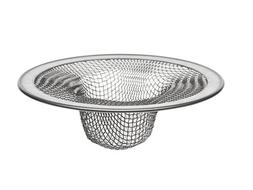 DANCO Bath Tub Drain Mesh Strainer, Stainless Steel, 2-3/4 I