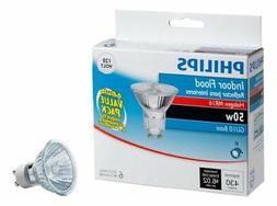 Philips 415760 Indoor Flood 50-Watt MR16 GU10 Base 120-Volt