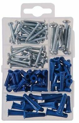 The Hillman Group 591516 Small Anchors with Screws Assortmen