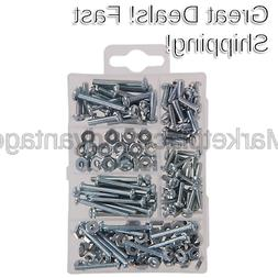 The Hillman Group 591518 Small Machine Screws with Nuts Asso