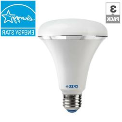 6  Cree 65W Soft White  BR30 Dimmable LED Light Bulb