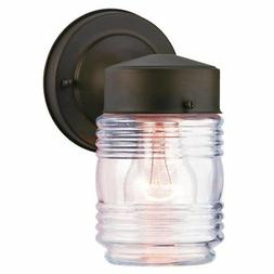 Westinghouse Lighting 6688200 One-Light Outdoor Jelly Jar Wa