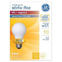 GE Lighting 70284 Soft White Long Life 72-Watt , 1270-Lumen