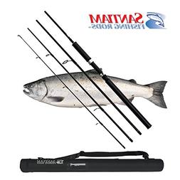 Santiam Fishing Rods 4 Piece 8'6'' 10-20lb Graphite Travel S