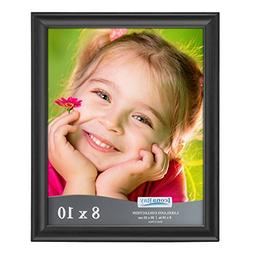 Icona Bay 8x10 Picture Frame , Photo Frames for Wall or Tabl