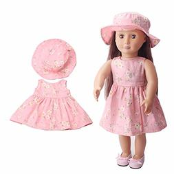 "American girl doll clothes accessories ,2018 summer 18"" inch"