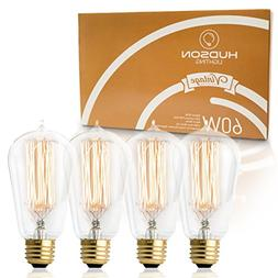 Antique Vintage Edison Bulb 4 Pack - 60 watt - Hudson Lighti