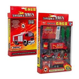 Big-Daddy Fire Rescue Toy Play Set Starter Kit Includes More