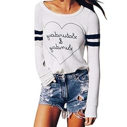 Clearance! Mikey Store Women Long Sleeve O-Neck Cross Hollow