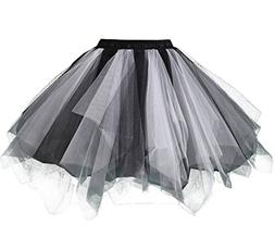 Kileyi Womens Tutu Costume Adult Party Dance Tulle Skirt Sho