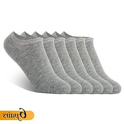Lightweight Cotton Breathable Low Cut Ankle Socks Men Grey N