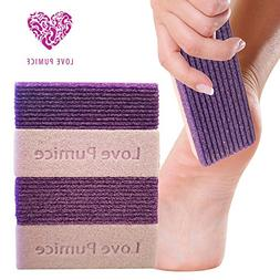 Love Pumice 2 in 1 Pumice Stone for Feet, Hands and Body,