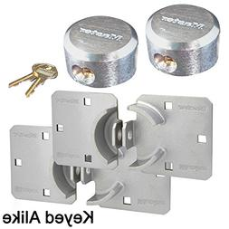 Master Lock Hasp / Hidden Shackle Keyed Alike Padlocks 770 -