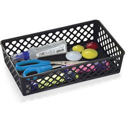 Officemate OIC Achieva Large Supply Basket, Pack of 2, Recyc