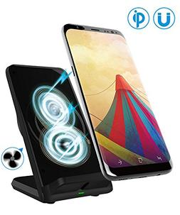Qi 7.5 Fast Wireless Charger 2 Coils Wireless Charging Stand