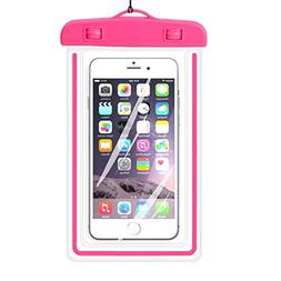 Universal Waterproof Case,iBarbe Cellphone Dry Bag Pouch Out