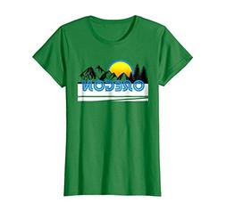 Womens Oregon t shirt retro vintage style souvenir apparel L