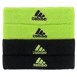 adidas Interval 3/4-Inch Bicep Band, Slime/Black, One Size