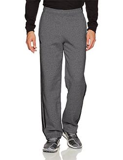 adidas Men's Athletics Essential Cotton 3 Stripe Pants, Dark