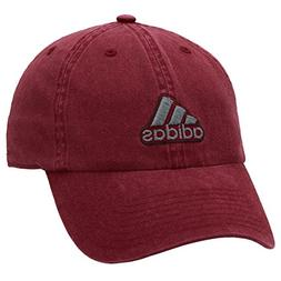 adidas Men's Ultimate Relaxed Fit Cap, Collegiate Burgundy/O