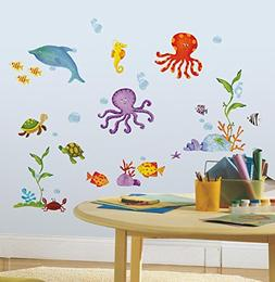 Adventures Under the Sea Peel & Stick Wall Decals 10 x 18in