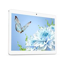 YELLYOUTH Android Tablet 10 inch with Dual Sim Card Slots 10