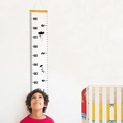 Baby Growth Chart Hanging Rulers Room Decoration Wall Decor