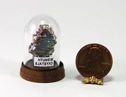 Dollhouse Miniature Bismuth Crystals Specimen by Artistic Fl
