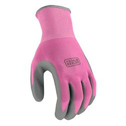 Black & Decker BD512LS Pink Ladies Foam Nitrile Grip Glove