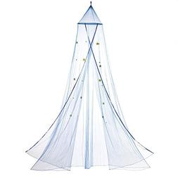 Home Locomotion Blue Starry Sky Bed Canopy