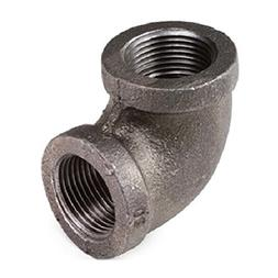 "Everflow Supplies BMNL0012 1/2"" 90 Degree Malleable Iron Elb"