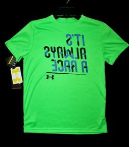 ~~BOY'S UNDER ARMOUR SHIRT...YOUTH MED/10-12..DRI-FIT/LOOSE